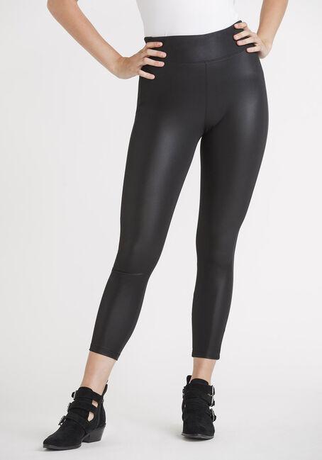 Women's Matte Faux Leather Legging