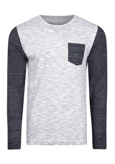 Men's Everyday Long Sleeve Tee, MIDNIGHT NAVY, hi-res