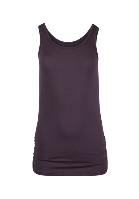 Ladies' Super Soft Ruched Side Tank