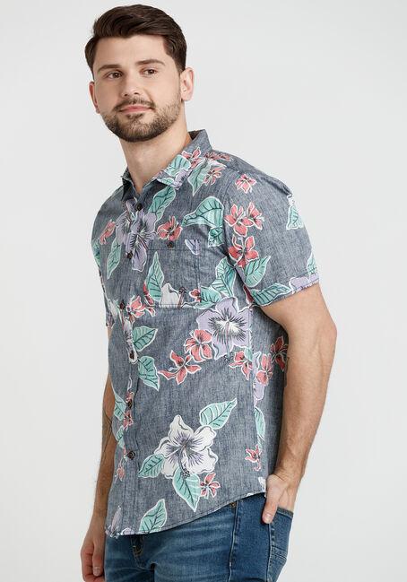 Men's Floral Resort Shirt