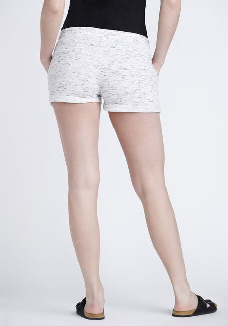 Womens' Space Dye Boyfriend Short, OATMEAL, hi-res