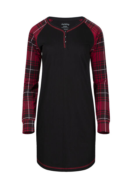 Women's Plaid Sleepshirt