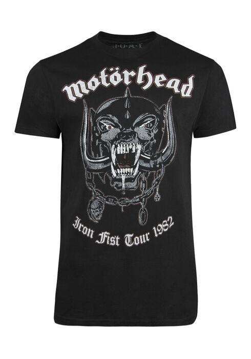 Men's Motorhead Tee, BLACK, hi-res