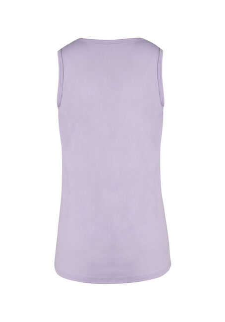 Women's V-neck Tank, LAVENDER, hi-res