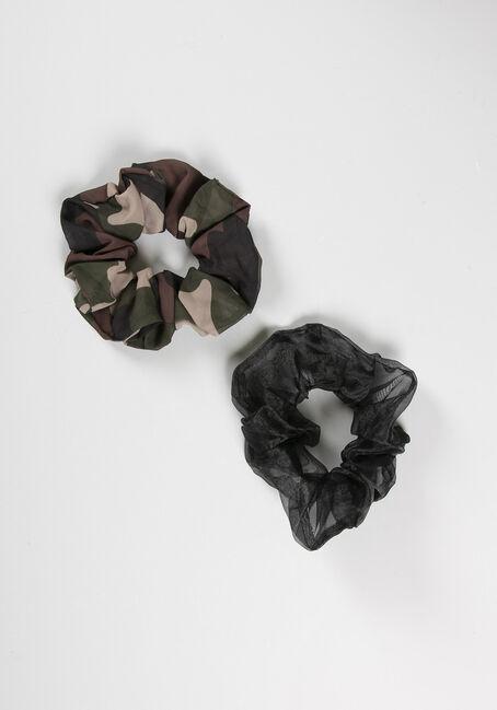 Jumbo Camo Hair Scrunchie