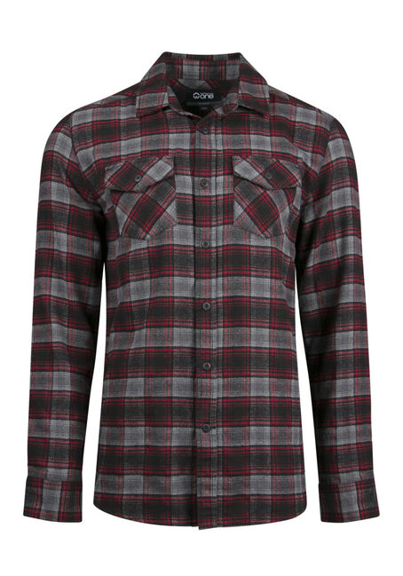 Men's Relaxed Flannel Shirt