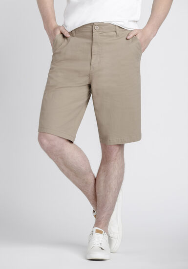 Men's Chino Shorts, STONE, hi-res