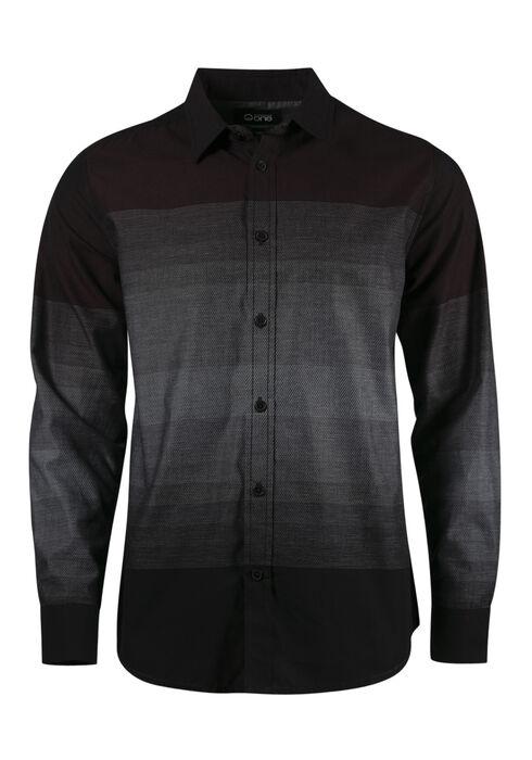 Men's Relaxed Stripe Shirt, FIG, hi-res