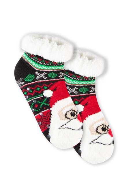 Women's Nordic Santa Slipper Socks