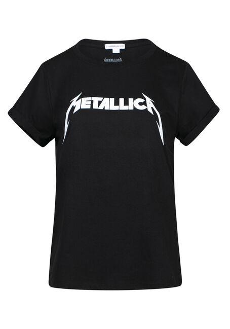Women's Metallica Boyfriend Tee