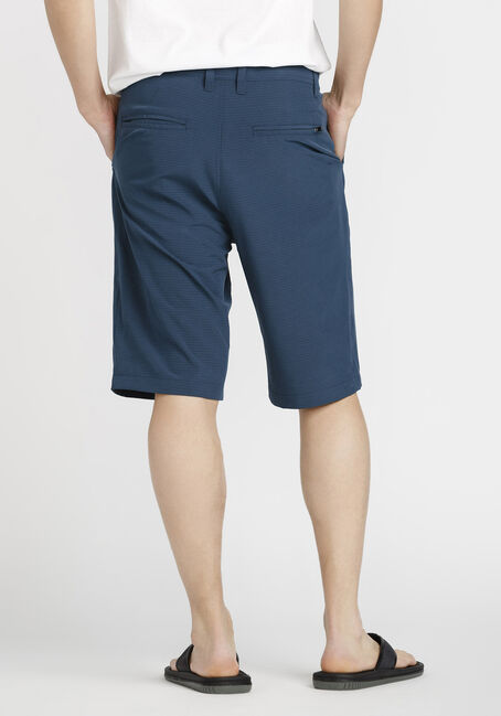 Men's Mini Stripe Hybrid Short, BLUE, hi-res