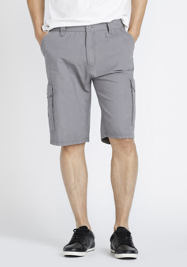 Men's Cargo Short, GREY, hi-res