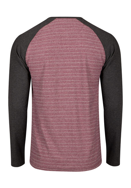 Men's Everyday Henley Tee, PINOT, hi-res