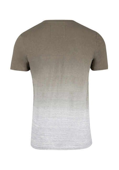 Men's Everyday Dip Dye Tee, LIGHT OLIVE, hi-res