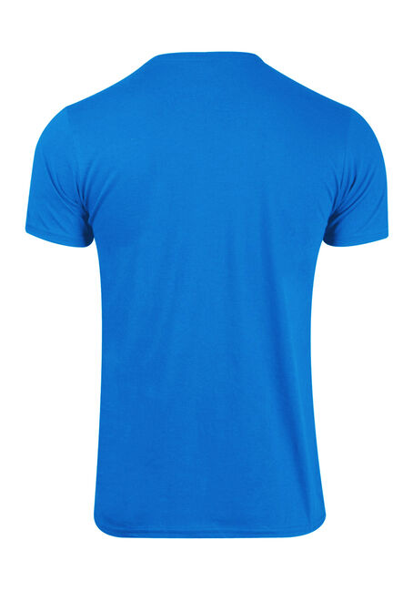 Men's Tour V-Neck Tee, BRIGHT BLUE, hi-res