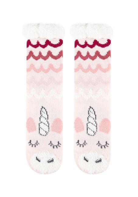 Women's Unicorn Slipper Socks