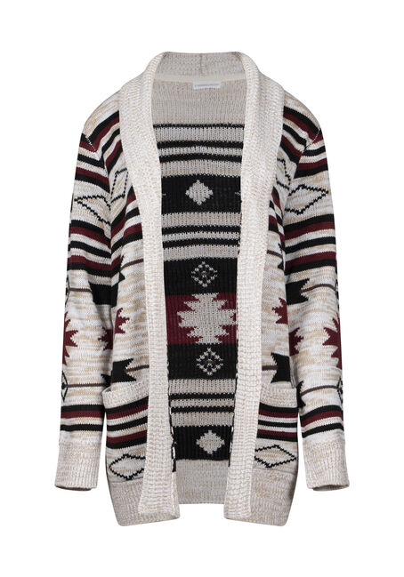Women's Aztec Pattern Cardigan