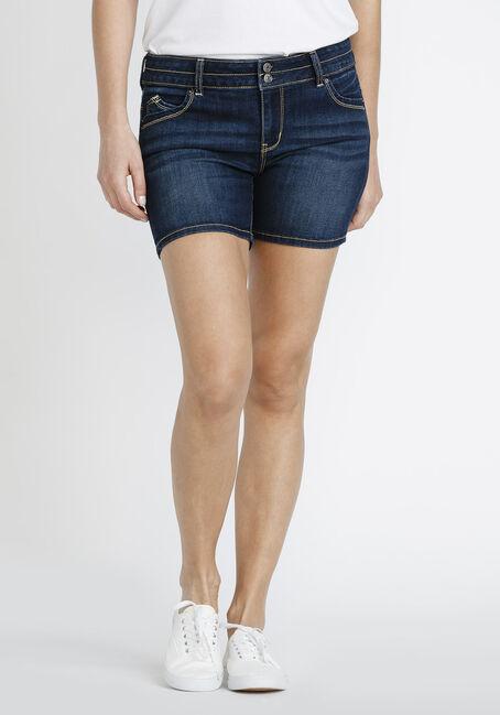 Women's Mid Rise Jean Short