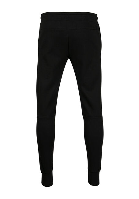 Men's Moto Jogger, BLACK, hi-res
