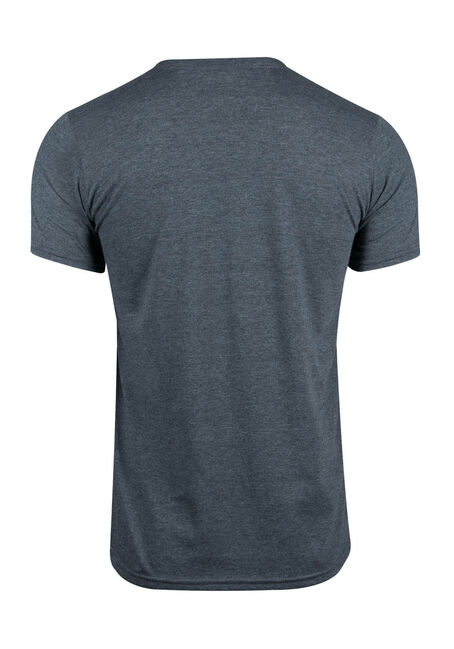 Men's Pretend Graphic Tee, DARK HEATHER, hi-res