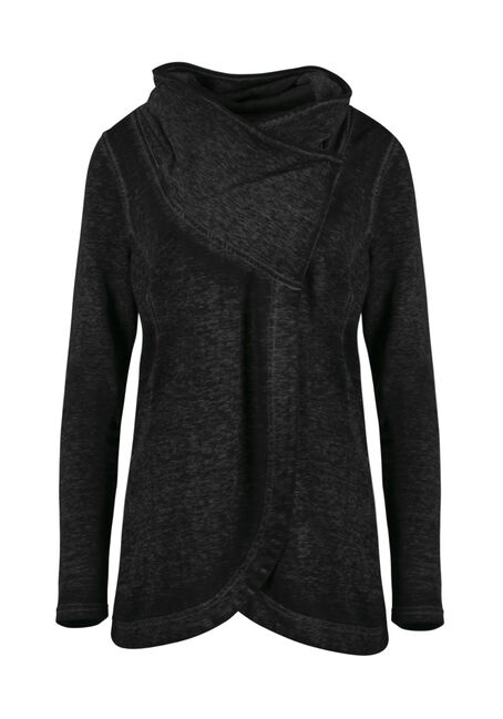 Women's Burnout Tunic Fleece Wrap