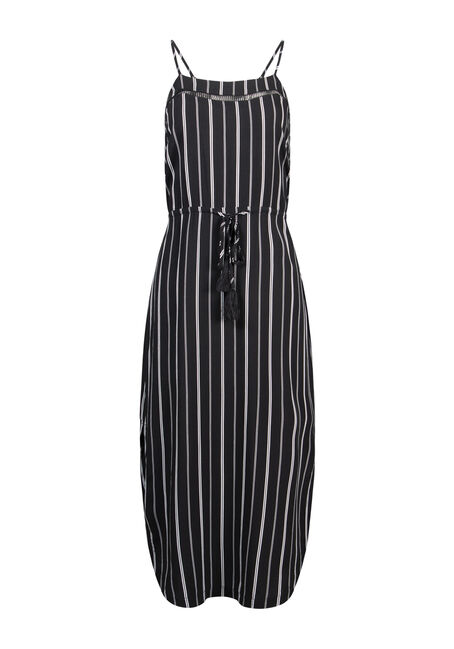 Women's Stripe Midi Dress