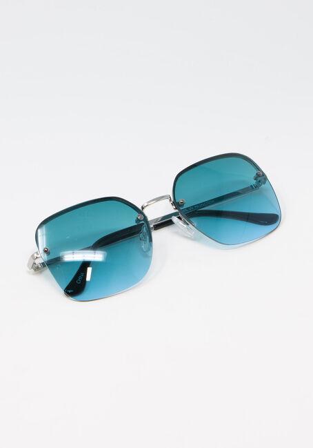 Women's Square Lense Aviator Sunglasses