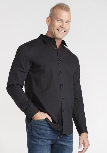 Men's Textured Stripe Shirt