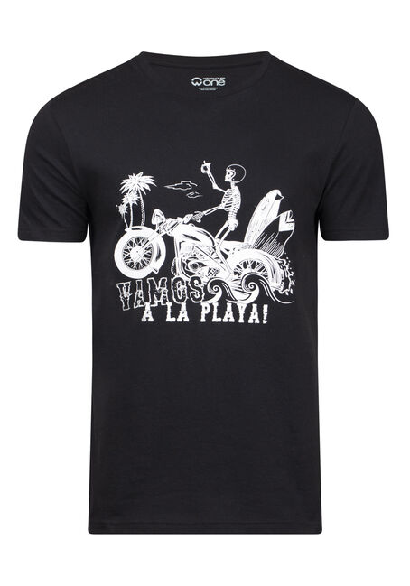 Men's Beach Skeleton Tee