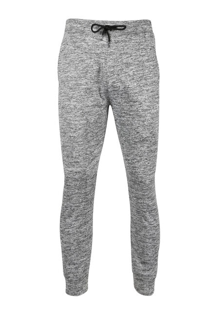 Men's Textured Fleece Jogger