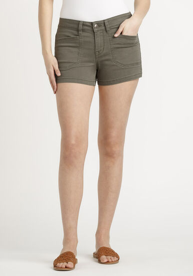Women's Surplus Pocket Short, DARK OLIVE, hi-res