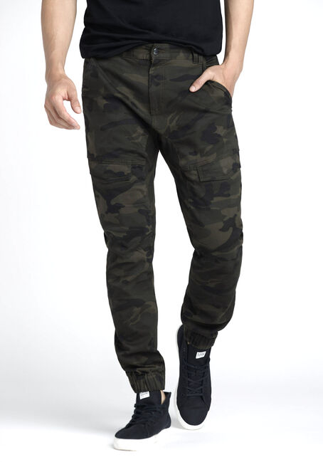 Men's Cargo Stretch Camo Joggers