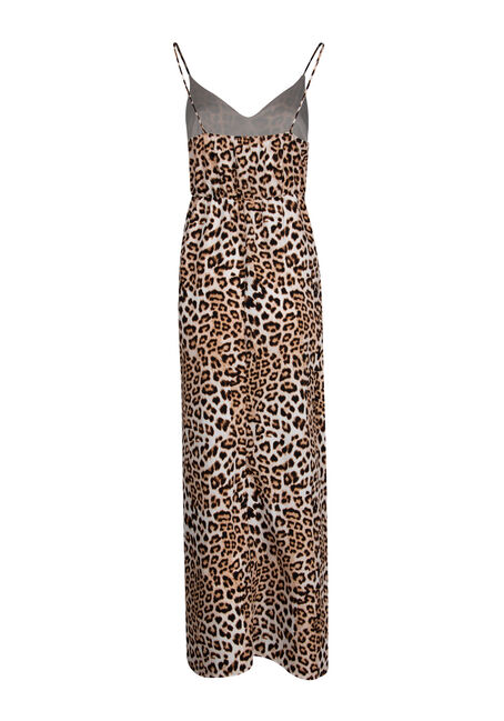 Women's Animal Print Maxi Dress, MULTI, hi-res