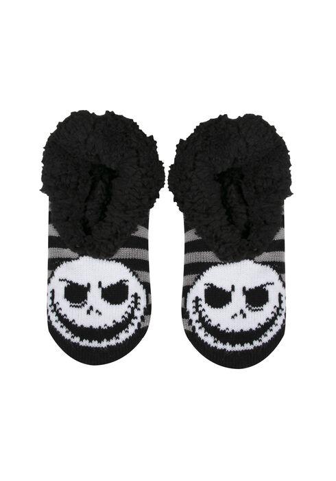 Ladies' Nightmare Slippers, BLACK, hi-res