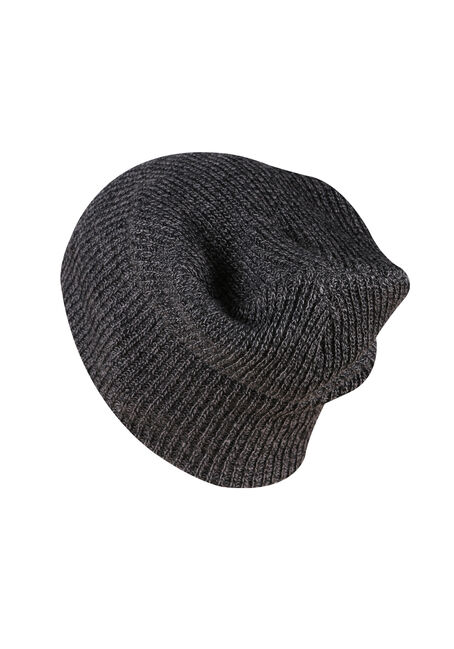 Men's Slouchy Beanie, CHARCOAL, hi-res