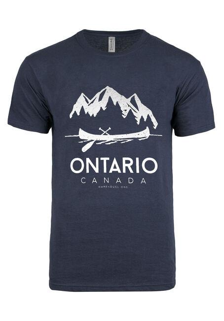 Men's Ontario Canoe Tee