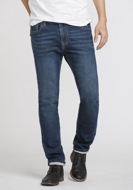Men's Dark Wash Skinny Jean