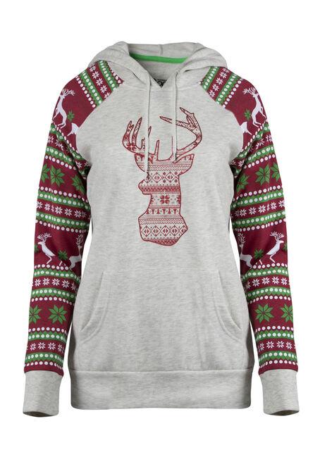Ladies' Nordic Reindeer Hoodie