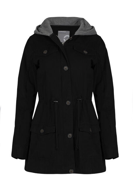 Ladies' Hooded Anorak Jacket