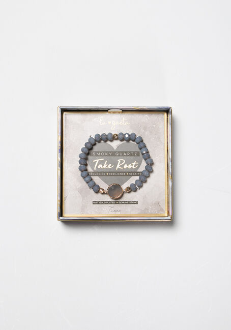 Women's Smokey Quartz Bracelet