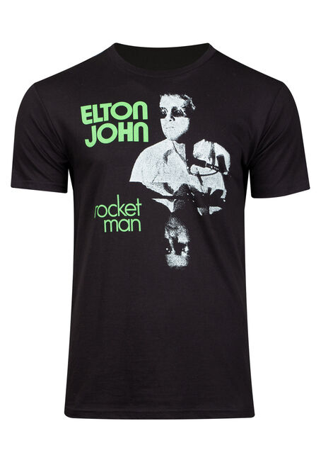 Men's Elton John Graphic Tee