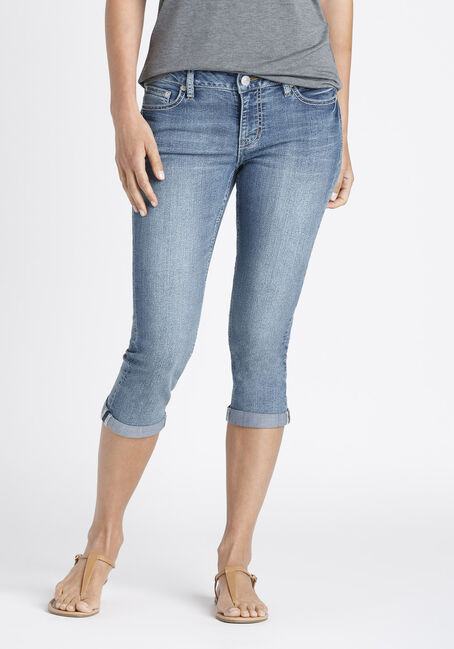 Ladies' Slim Capri