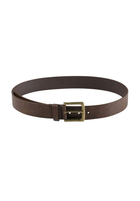 Men's Essential Brown Belt