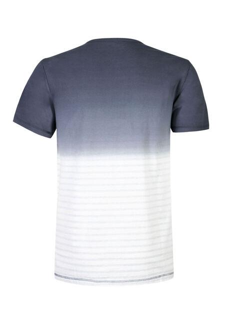 Men's Ombre Stripe Henley, NAVY, hi-res