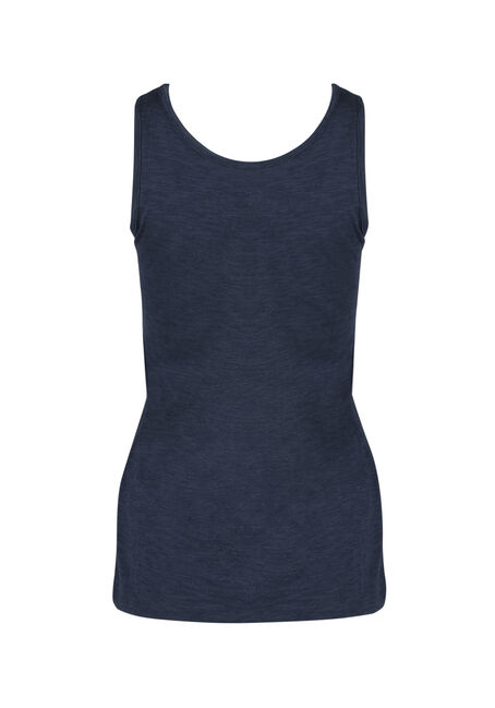 Ladies' Scoop Neck Tank, ECLIPSE, hi-res