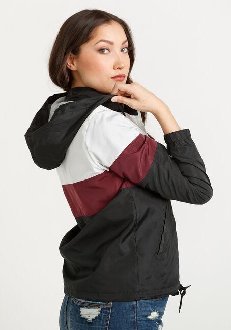 Women's Hooded Windbreaker Jacket, MULTI, hi-res