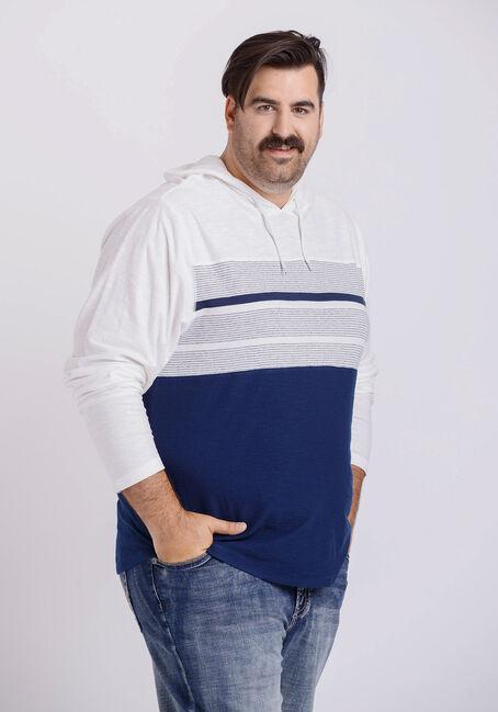 Men's Everyday Hooded Stripe Tee