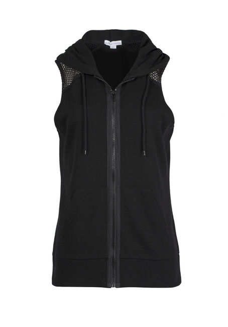 Ladies' Mesh Accent Vest