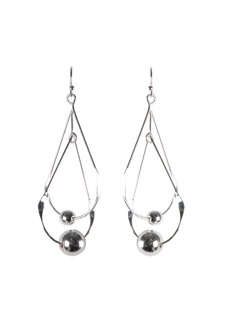 Ladies' Double Teardop Earring