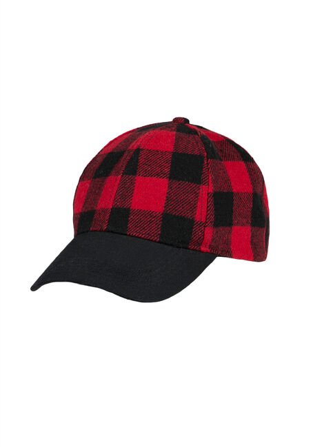 Ladies' Plaid Baseball Hat